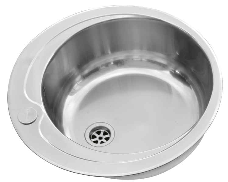 Pyramis round bowl sink with tap