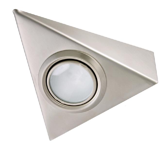 Triangular halogen light single