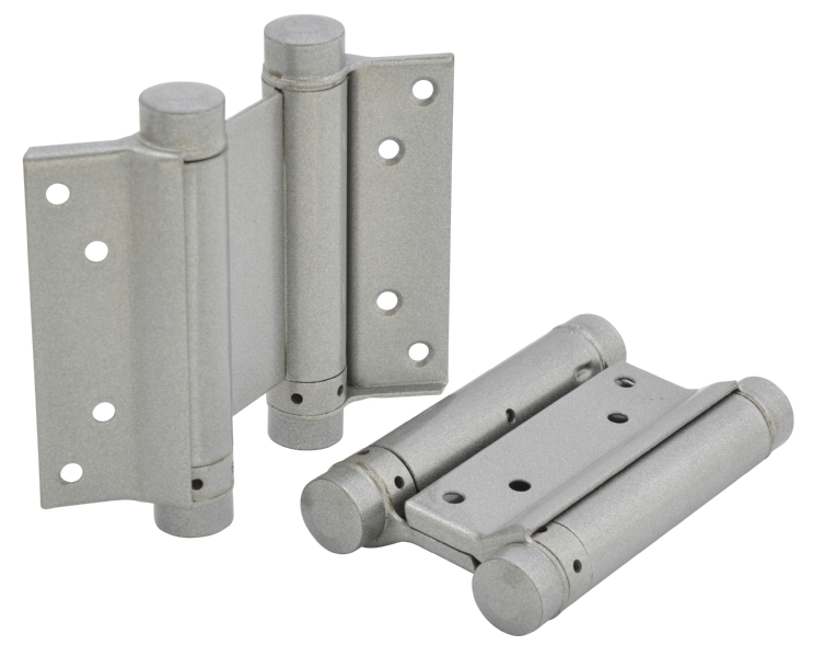 Double swing hinge
