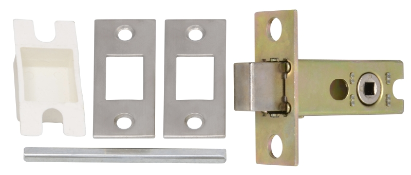 Mortice latch for interior door handles