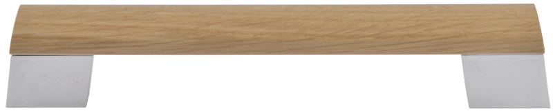 Oak dovetail bar handle
