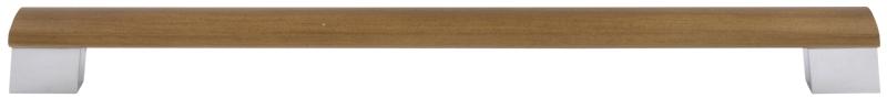 Walnut dovetail bar handle