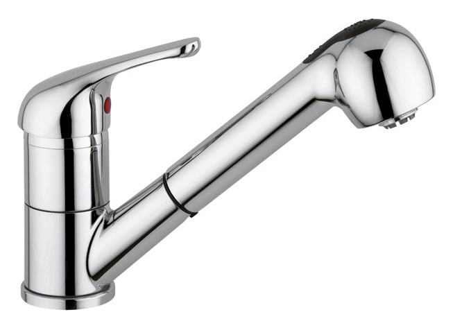 Capri pull out tap
