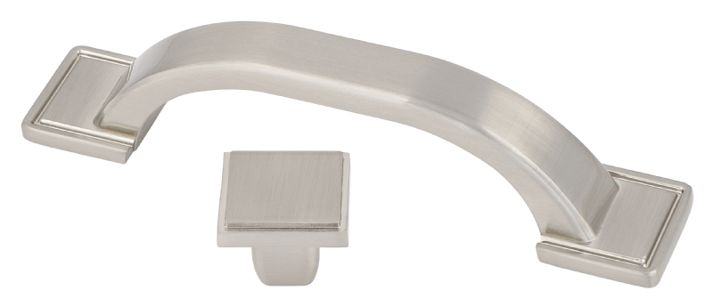 Modern brushed nickel collection