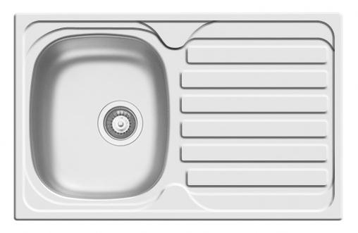 Pyramis small Derby single bowl sink