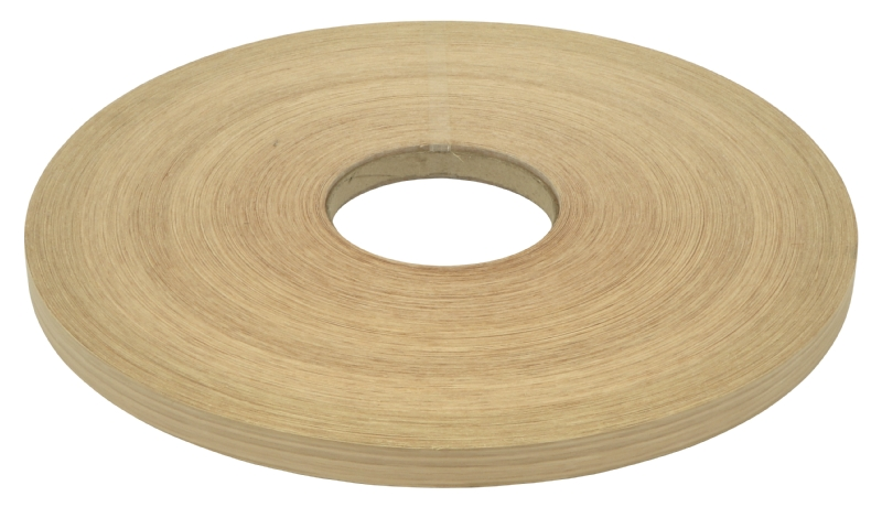 Unglued veneer edging white oak 0.5mm