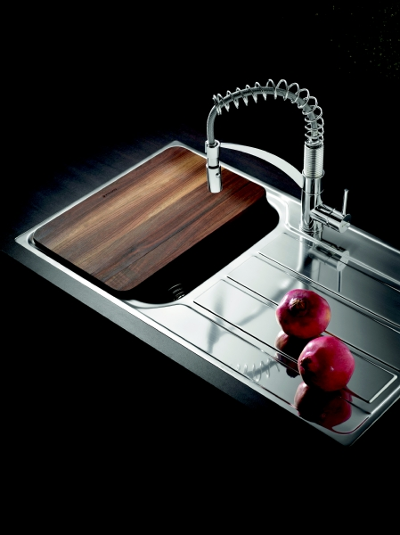 Pyramis Athena single bowl sink