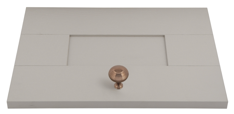 System rose gold cup handle and matching knobs collection