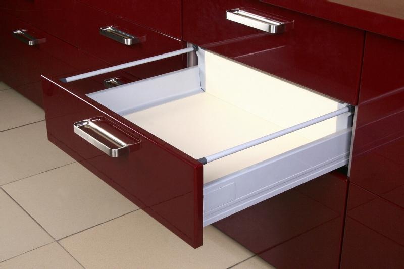 DTC soft close pot drawer