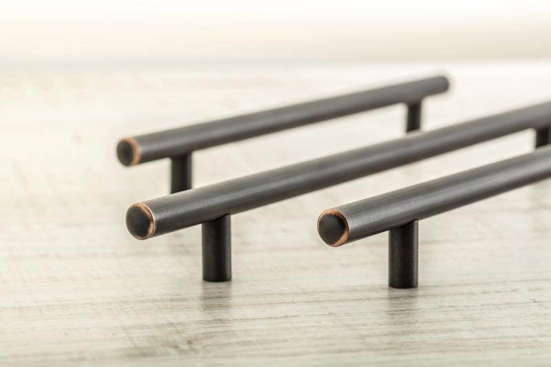 Rustic T bar handle